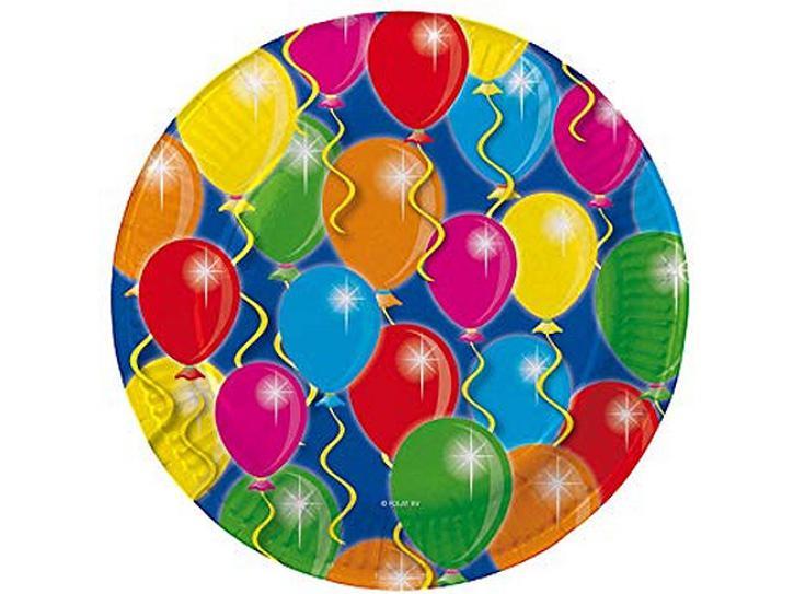 Teller Ballons 6 Stk