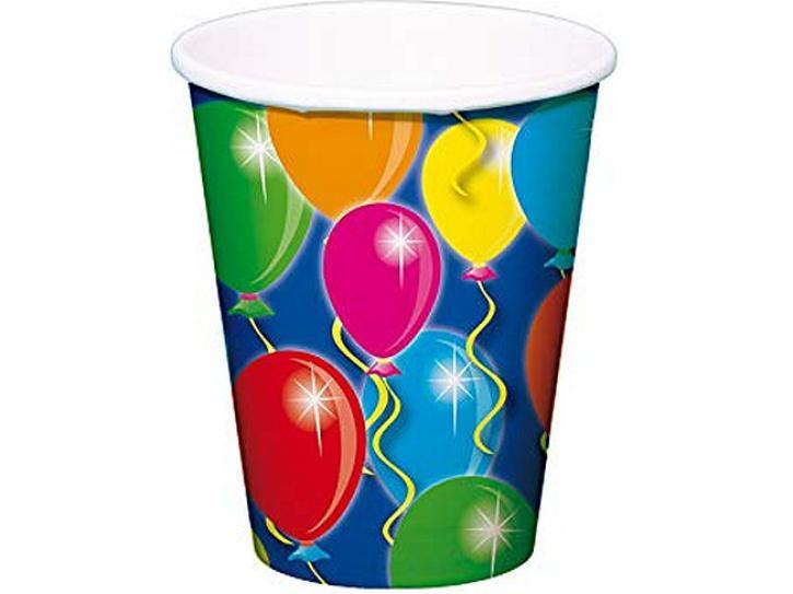 Becher Ballons 8 Stk.