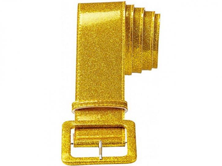 Gürtel Glitter-gold