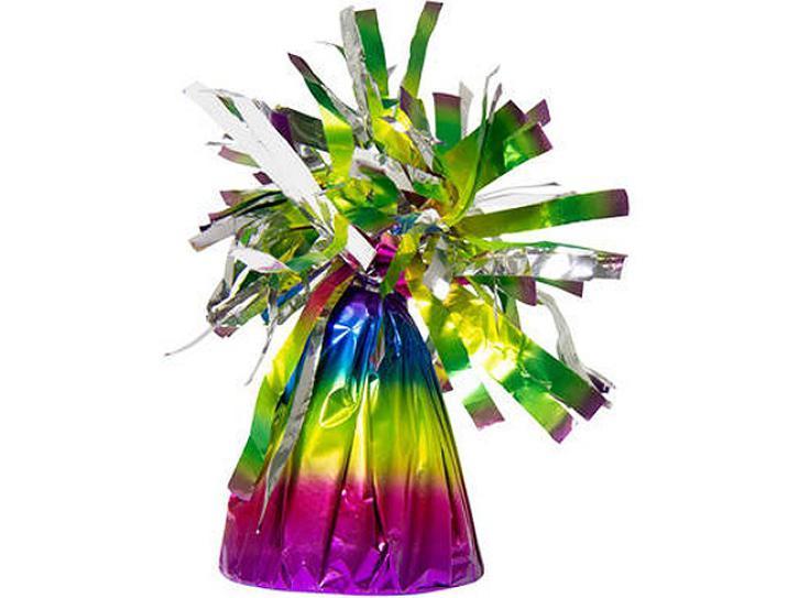 Folien-Ballongewicht Regenbogen