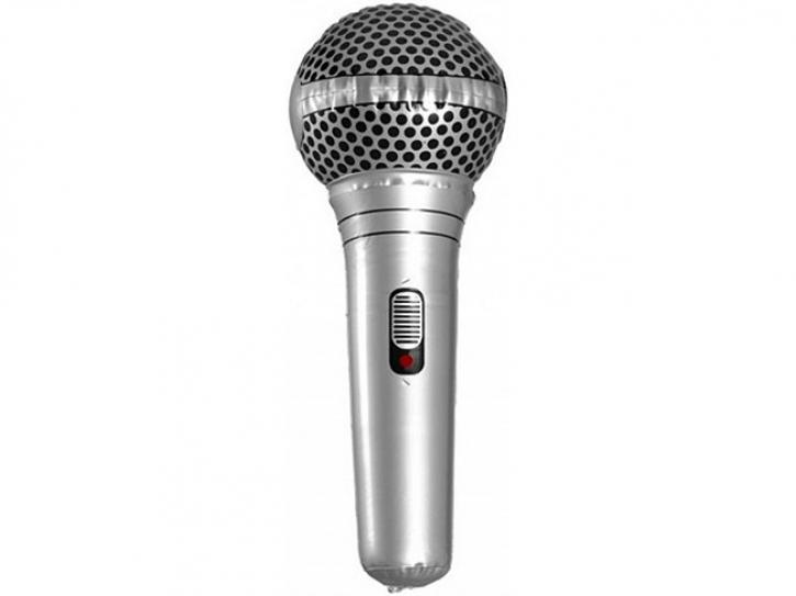Mikrophon aufblasbar 25cm