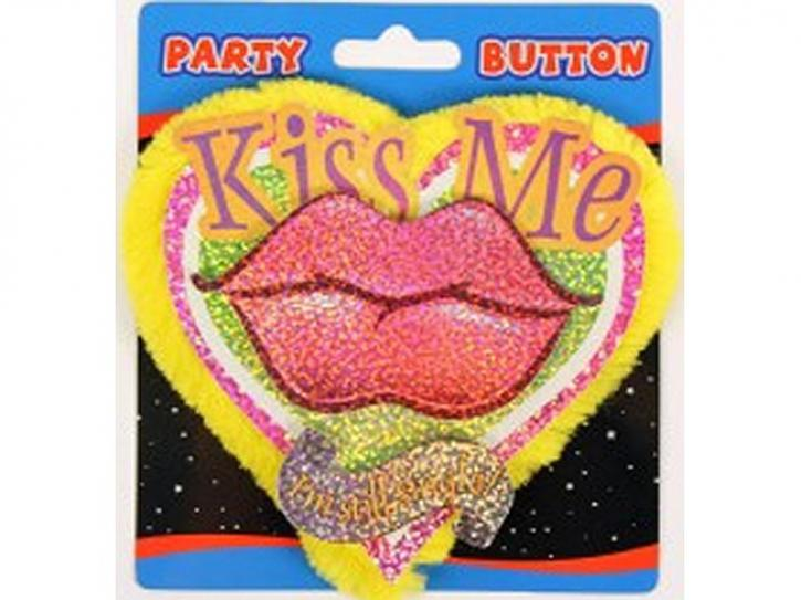 Button Kiss me, i´m still single