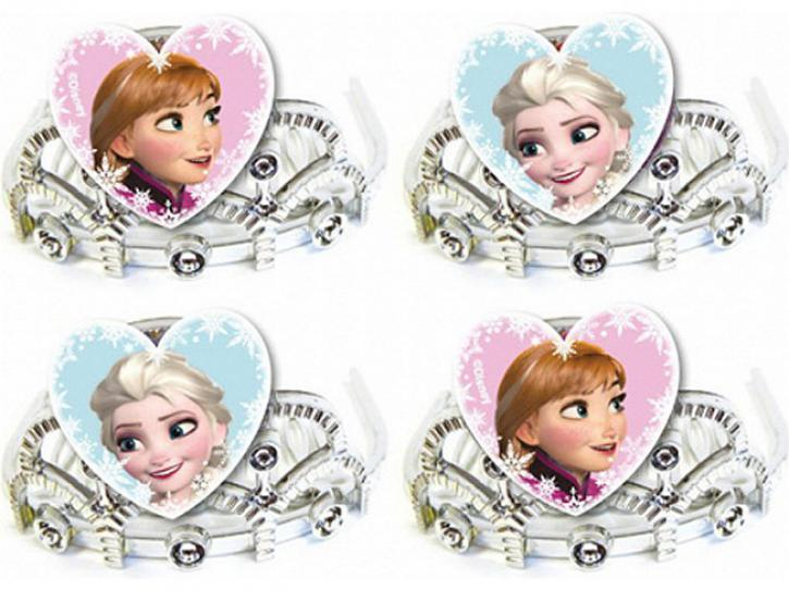 Krone Prinzess Frozen Eiskönigin 4 Stk.