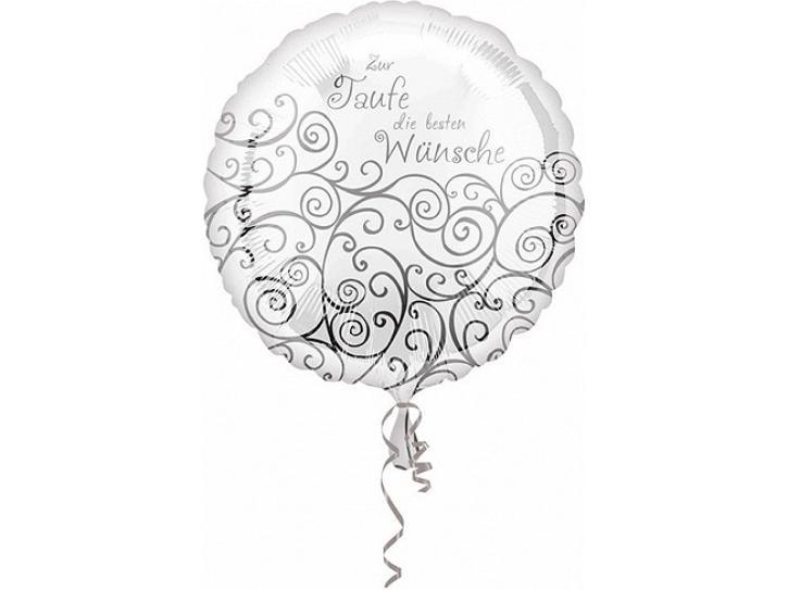 Folienballon zur Taufe