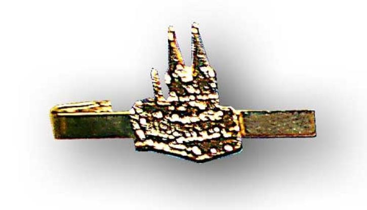Krawatten Nadel Kölner Dom gold