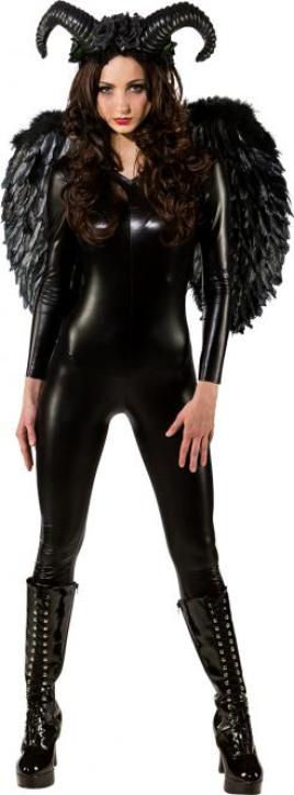 Federflügel de Luxe schwarz