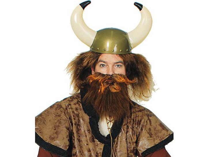 Helm Wikinger, groß mit Hörnern