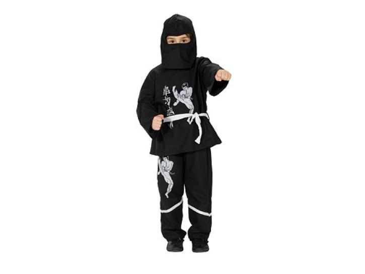 Kostüm Black Ninja Gr. 164