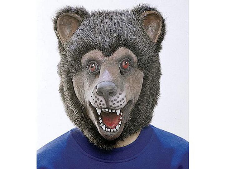 Maske Latex Bär