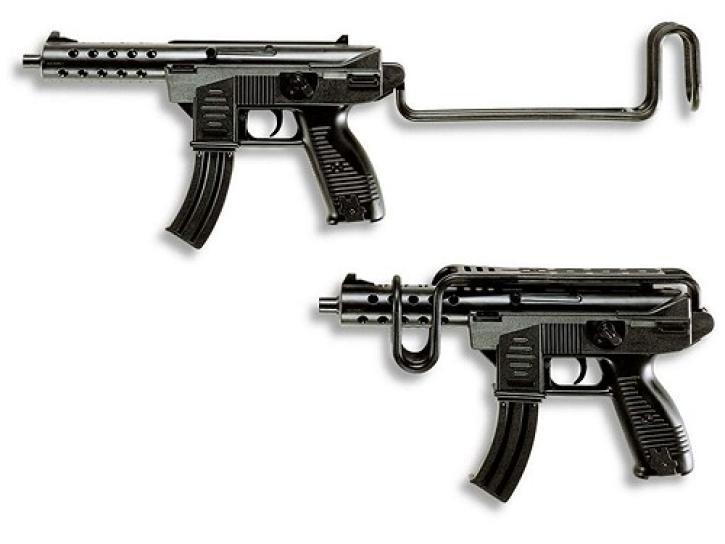 Maschinengewehr mit Schulterstütze 8 Schuss