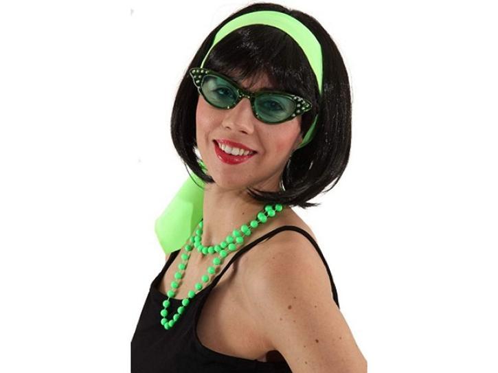 Brille Diva grün