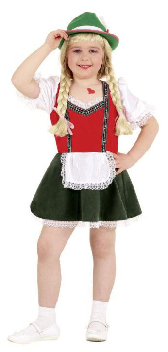 Kleid Tiroler Mädchen Gr.128