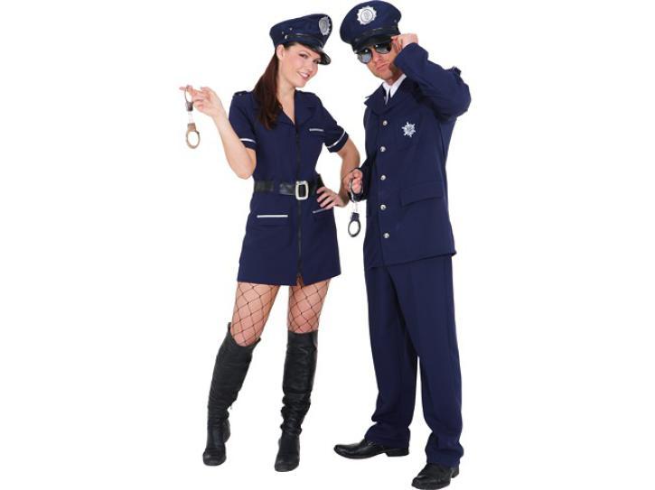 Kostüm Polizist Gr.58/60