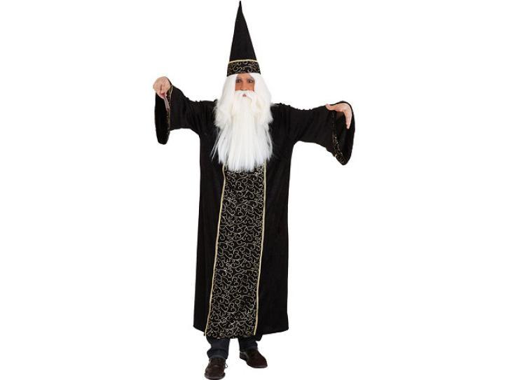 Kostüm Zauberer mit Hut Gr.54/56