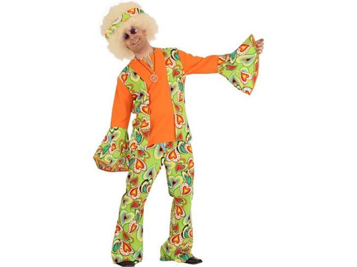 Kostüm Hippie Mann Gr.52/54