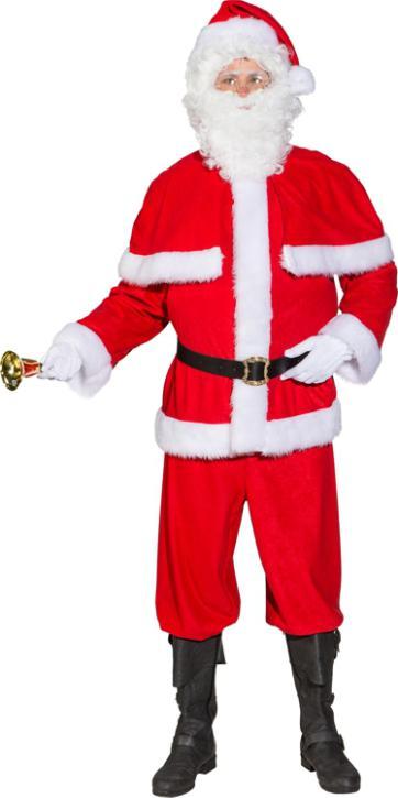 Weihnachtsmann Anzug mit Pelerine Gr.56/58