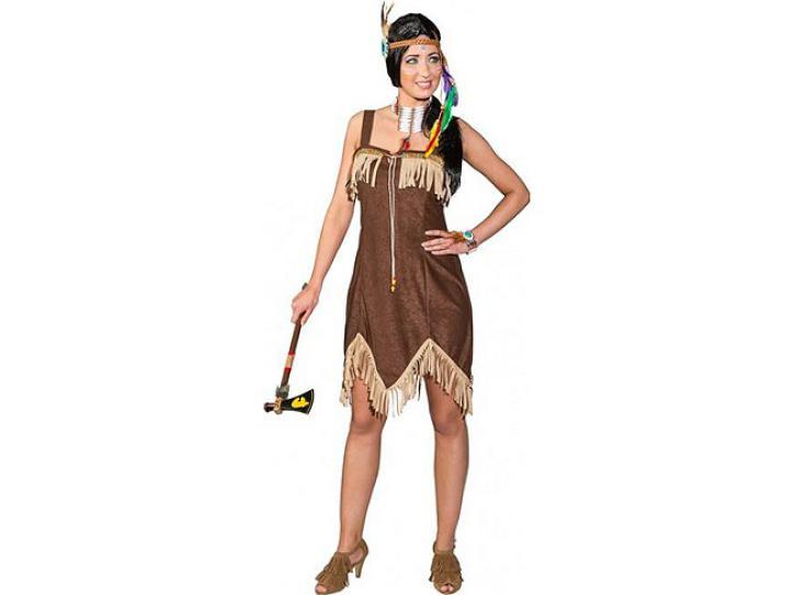 Kleid Sexy Indianerin Gr.36