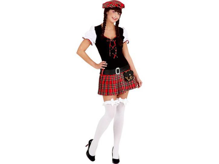 Kostüm Scottish Girl Gr.42