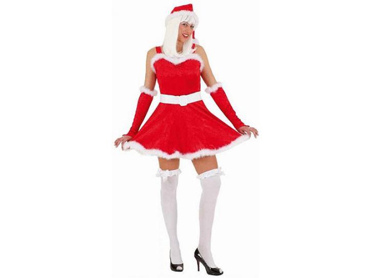 Kostüm Santa Girl rot Gr.40