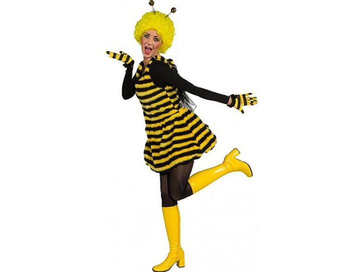 Kostüm Kesse Biene Kleid Gr.bis 42