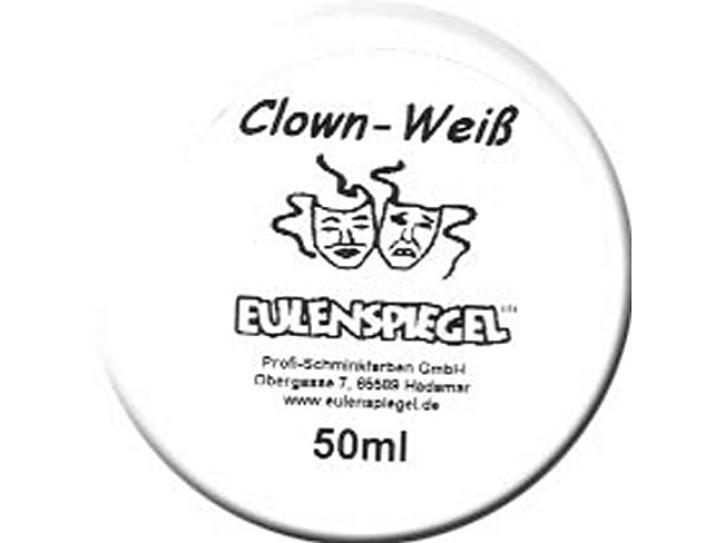Aquaschminke Clown Weiß 50 ml