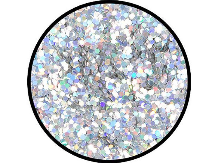 Effekt-Glitzer Silber-Juwel grob 6 g Dose