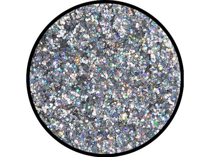 Effekt-Glitzer Silber-Juwel mittel 6 g Dose