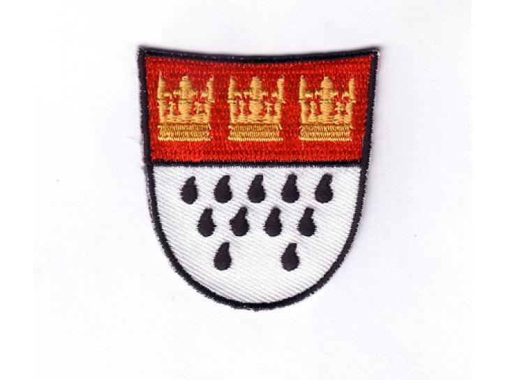 Bügelbild Aufnäher Wappen klein