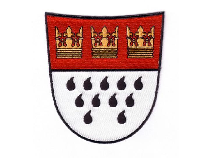 Bügelbild Aufnäher Wappen groß