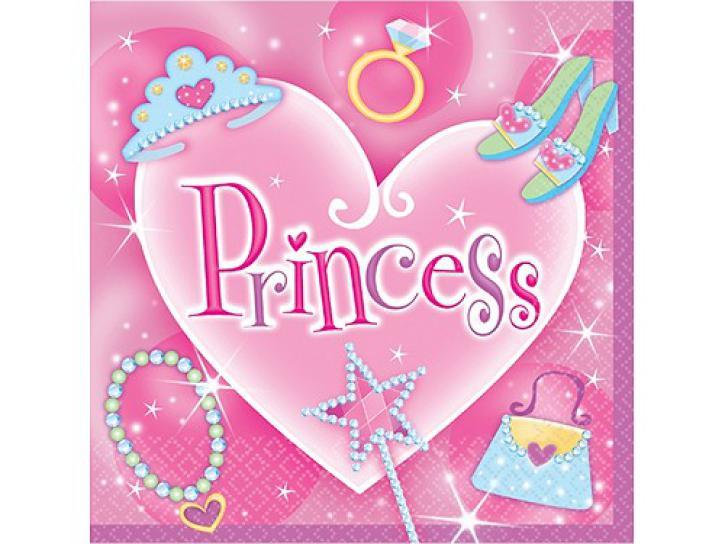 Servietten Princess 16 Stk.
