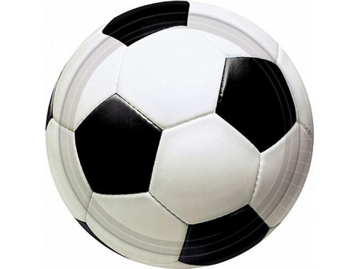 Teller Fußball 8 Stk.