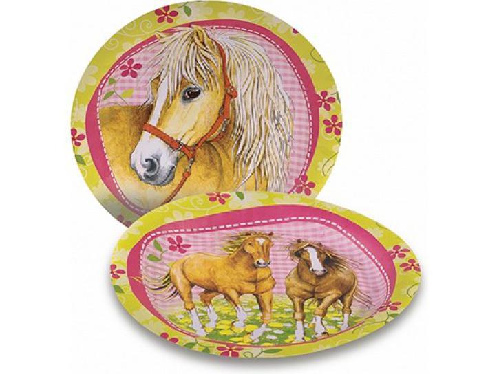Teller Pferde 8 Stk.