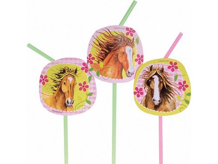 Trinkhalme Pferde 8 Stk.