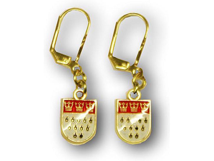 Ohrring Kölner Wappen