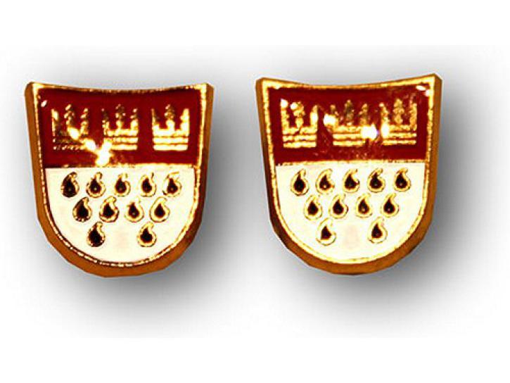 Ohrstecker Kölner Wappen