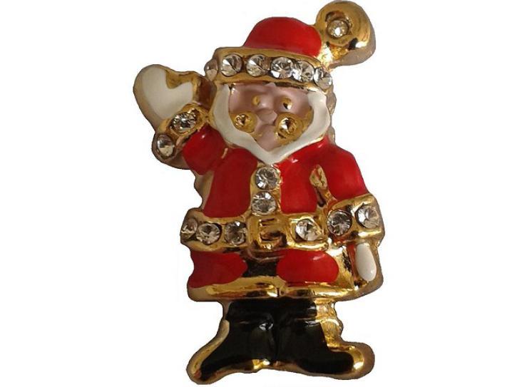 Ansteck Pin  Weihnachtsmann