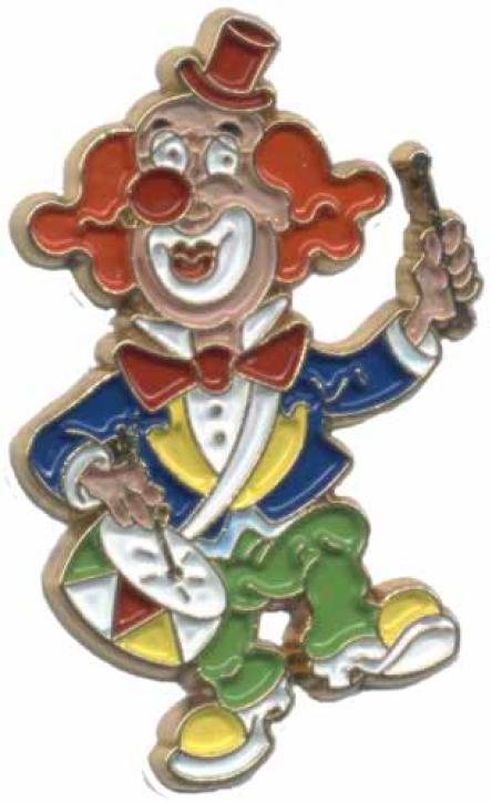 Karnevalspin Clown