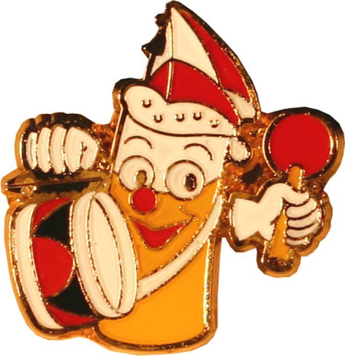 Karnevalspin Kölschglas mit Mütze