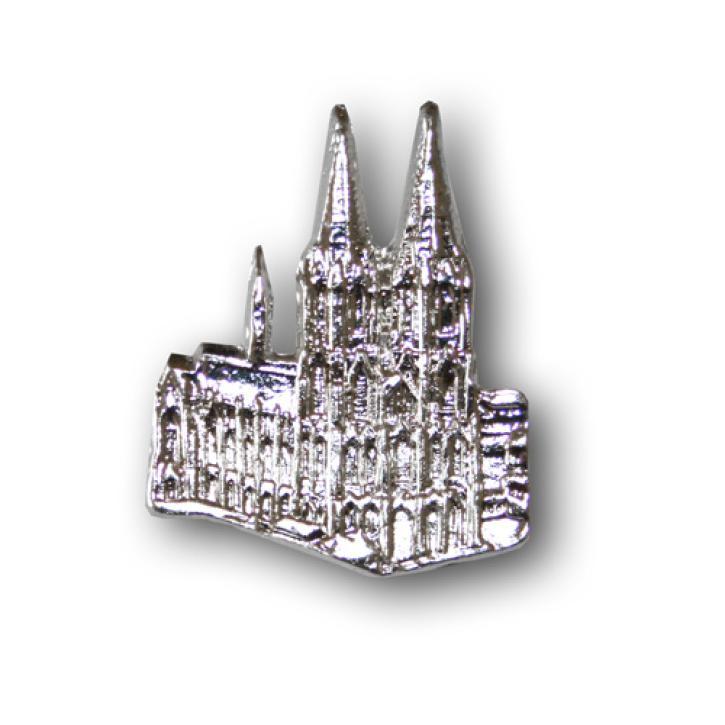 Pin Kölner Dom silberfarbig