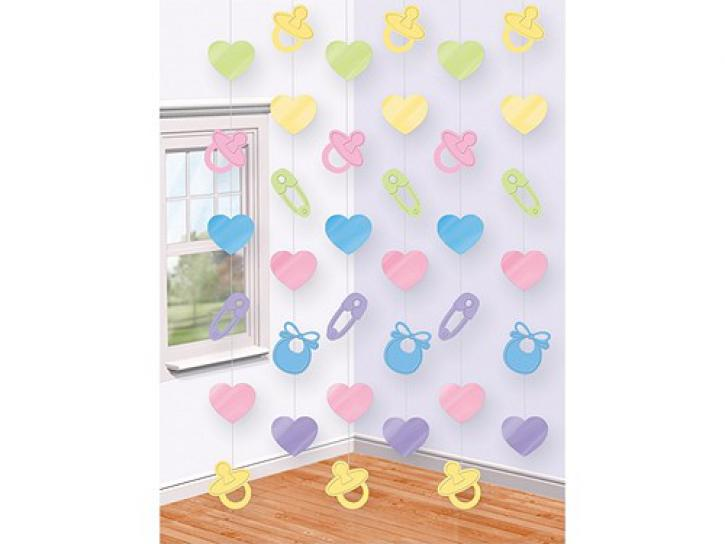 Dekoration String Baby Shower