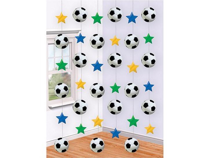 Dekoration String Fußball