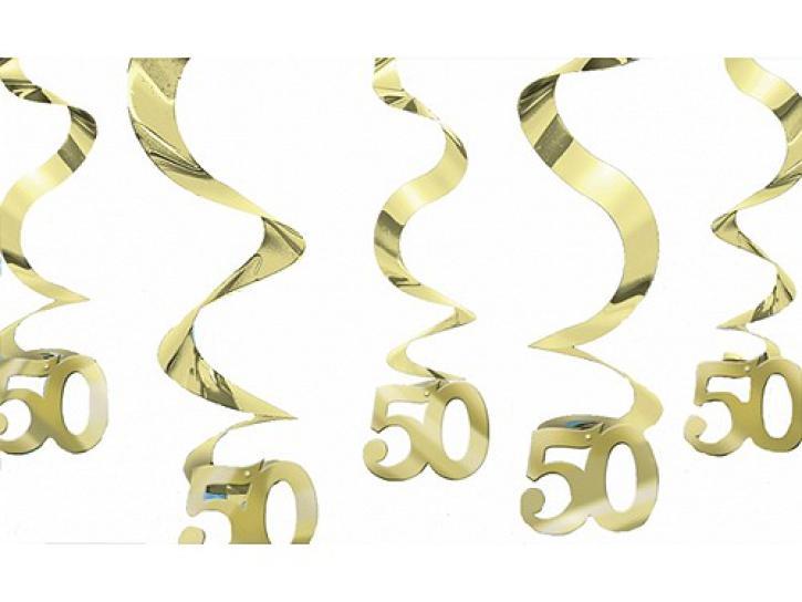 Dekospiralen 50 gold