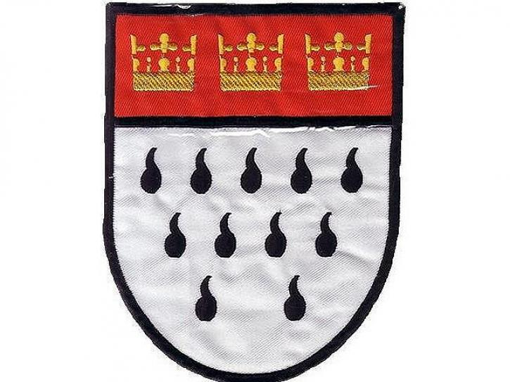 2 Bügelbilder Köln Wappen klein