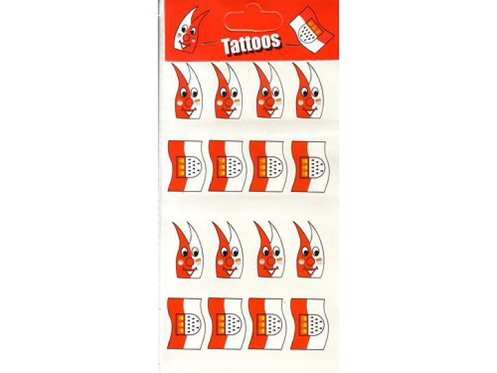 Tattoos Dom + Fahne