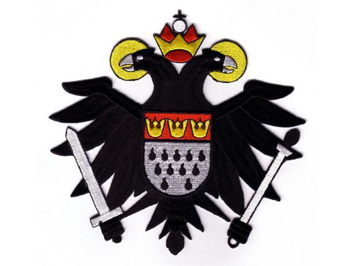 Bügelbild Aufnäher Kölner Adler klein