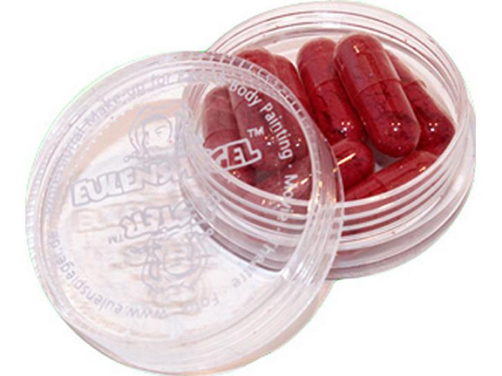 Blutkapseln, 8 Stck. befüllt