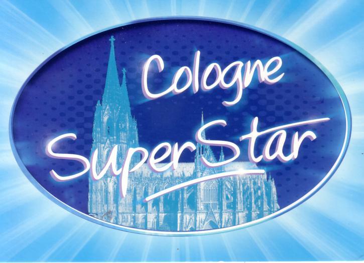 Postkarte ...Cologne SuperStar
