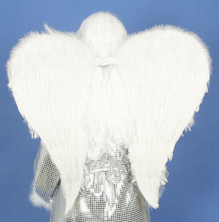 Engelflügel weiß 40cm