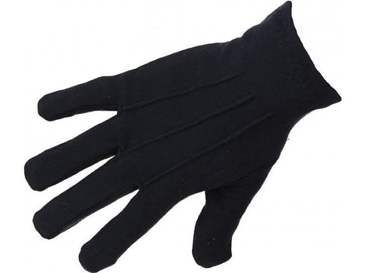 Handschuhe mit Biese schwarz Gr. L