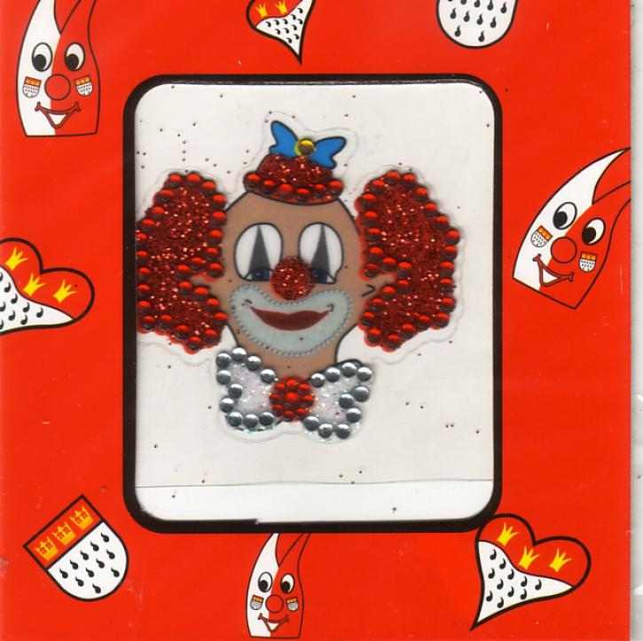 Glimmertattoo Clown